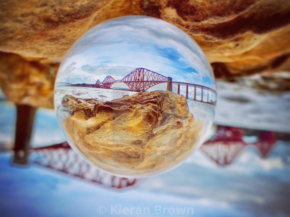 """Forth Railway Bridge Zoom"" stock image"