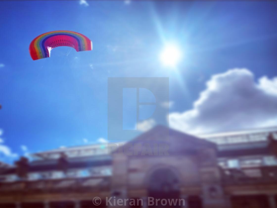 """""""Covent Garden Rainbow"""" stock image"""