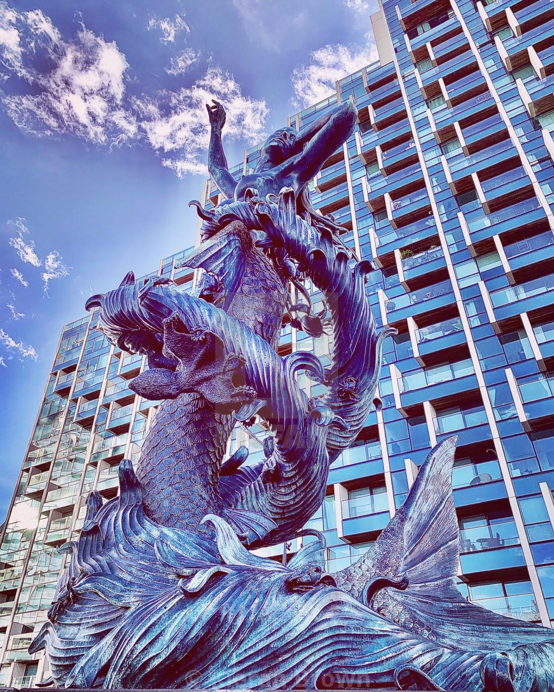 """Greenwich Mermaid"" stock image"