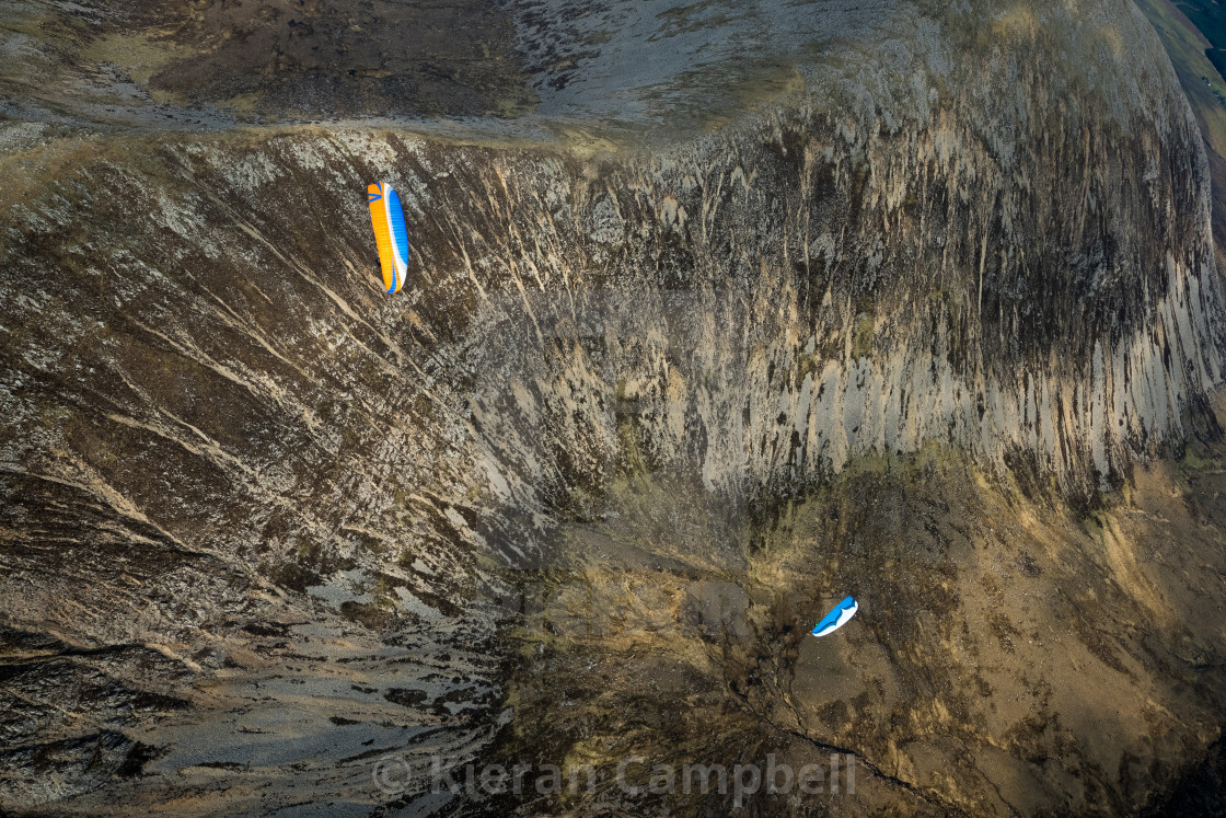 """""""Depth of the Cuillin"""" stock image"""