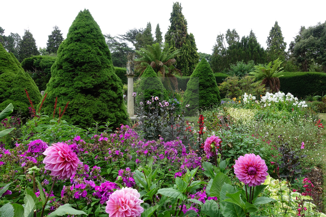 """Exbury Gardens New Forest UK Summer Scene"" stock image"