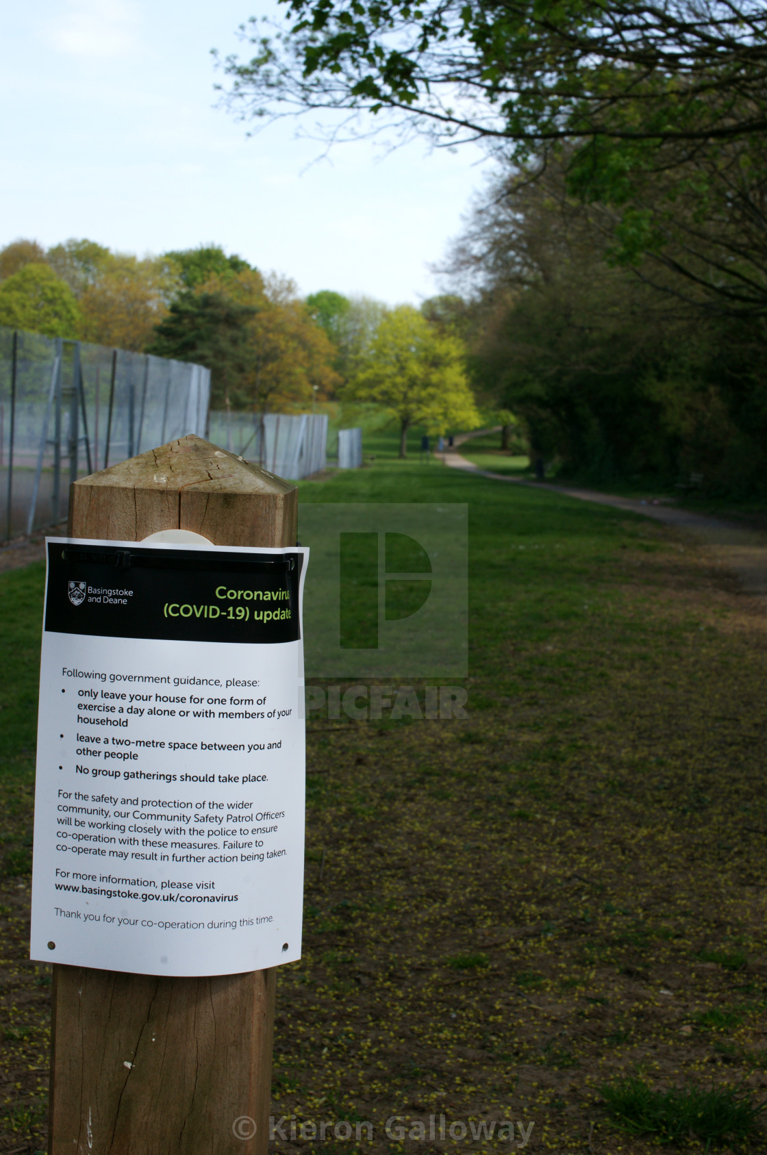 """""""COVID-19 UK Lockdown Rules Poster First Wave Tennis Court"""" stock image"""