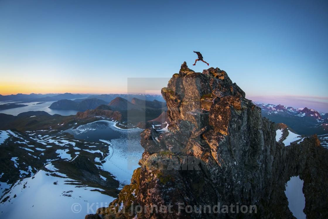 """Jump!"" stock image"