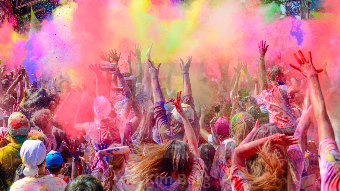 """Colourful Explosion of Energy"" stock image"