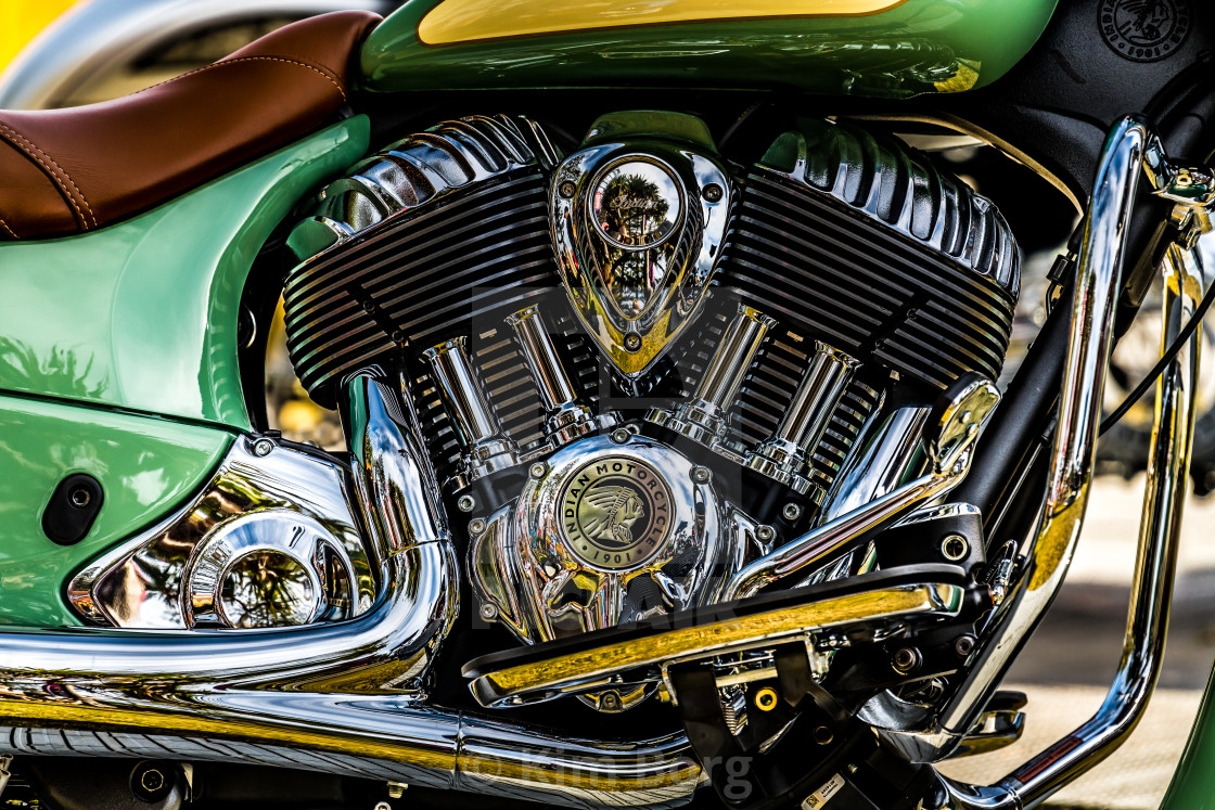 """""""Indian Motorcycles"""" stock image"""