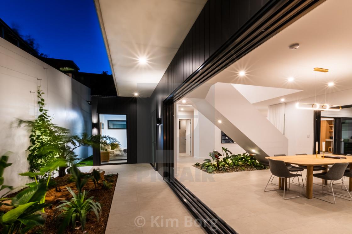 """Luxury Home Entrance"" stock image"
