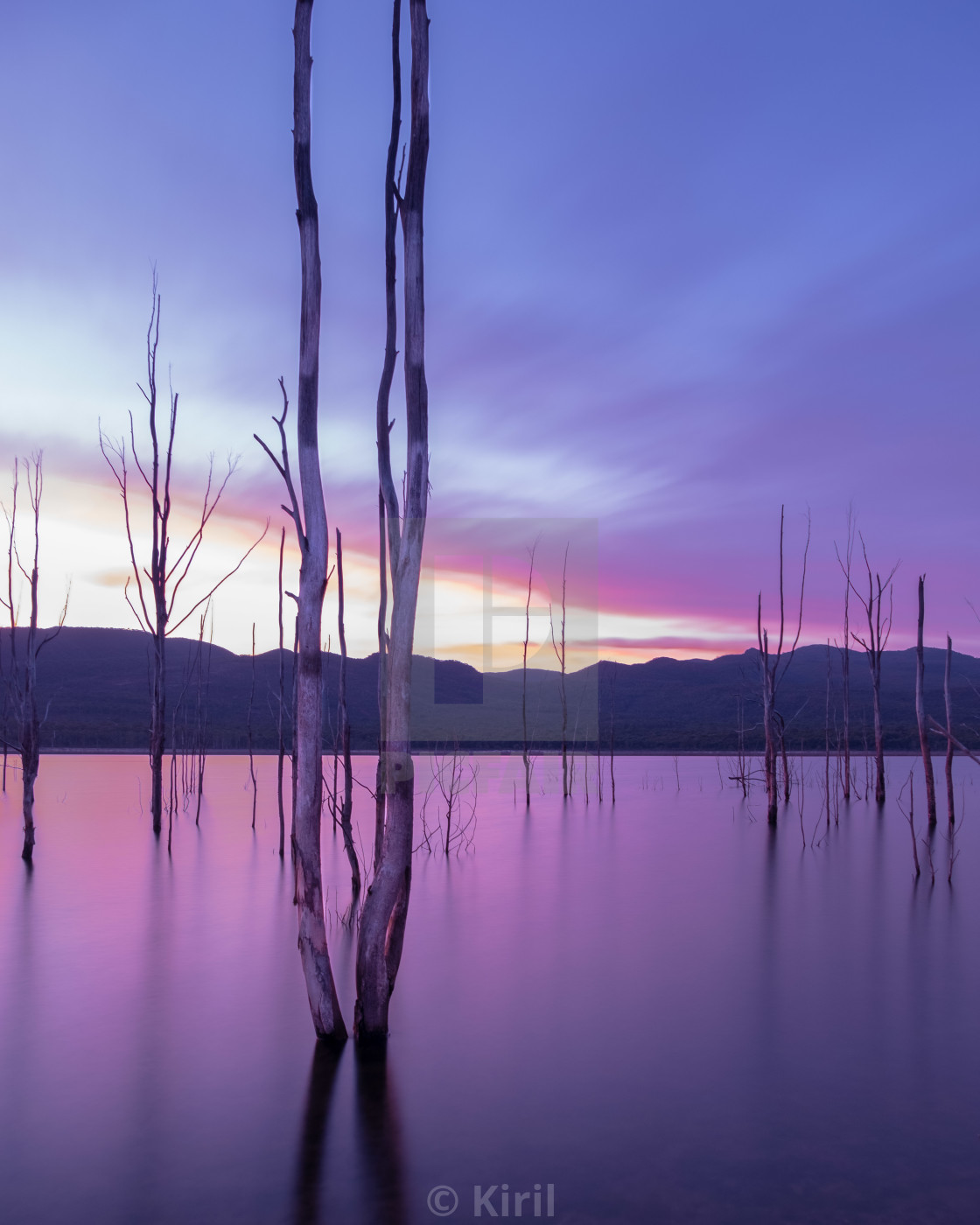 """Lake Bellfield"" stock image"