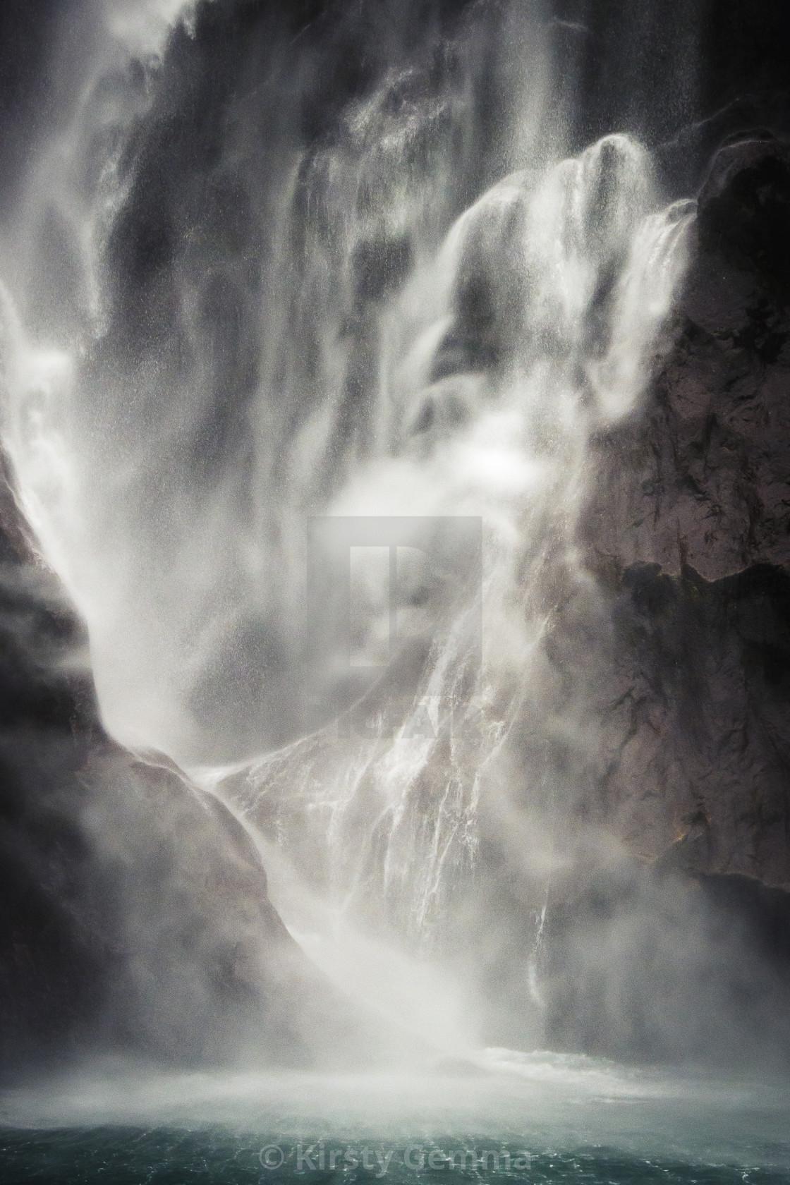 """Stirling Falls"" stock image"