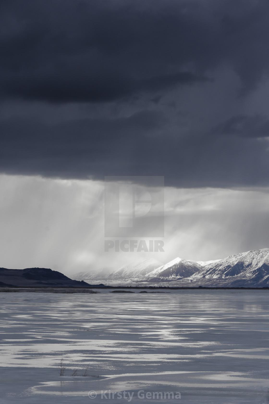 """Winter Storm"" stock image"