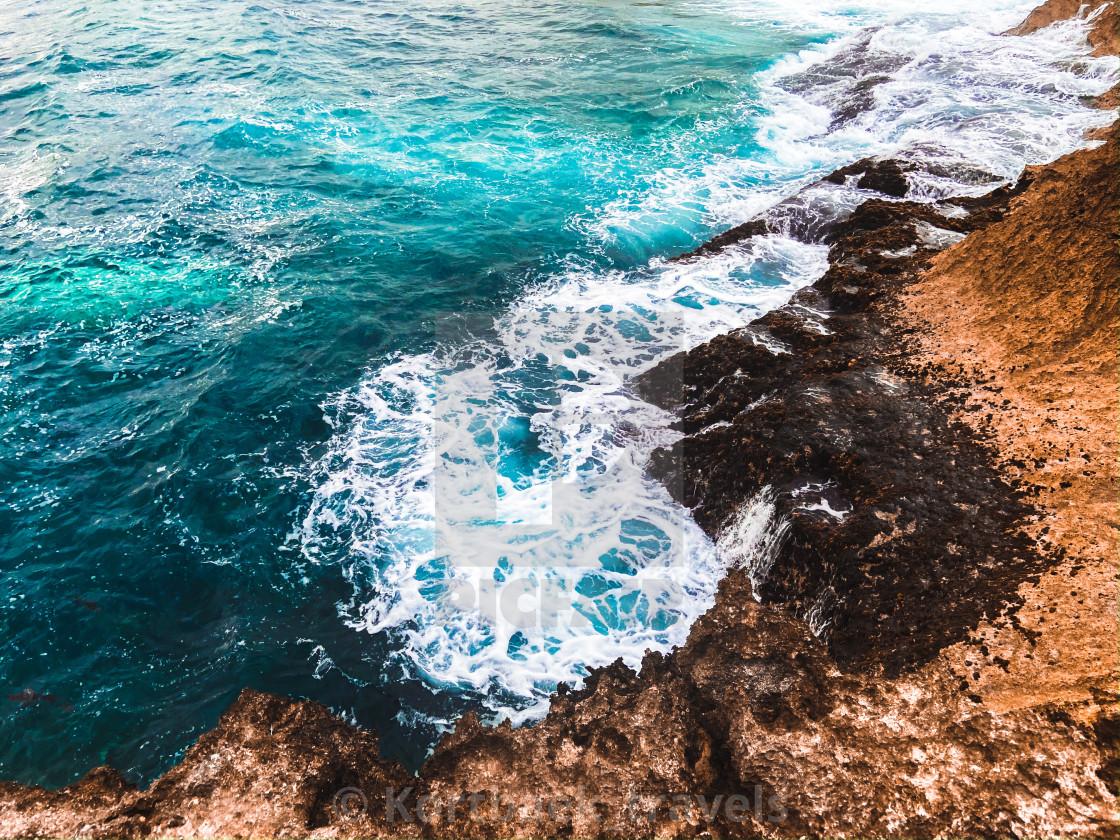 """""""Somewhere on Nusa Lembongan Island (Indonesia)"""" stock image"""
