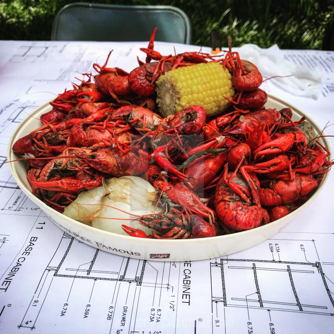 """""""Boiled Crawfish"""" stock image"""