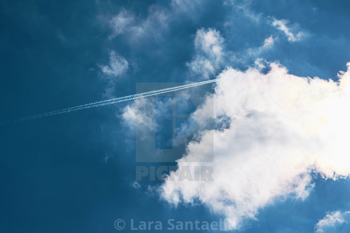 """""""A stab at the clouds"""" stock image"""