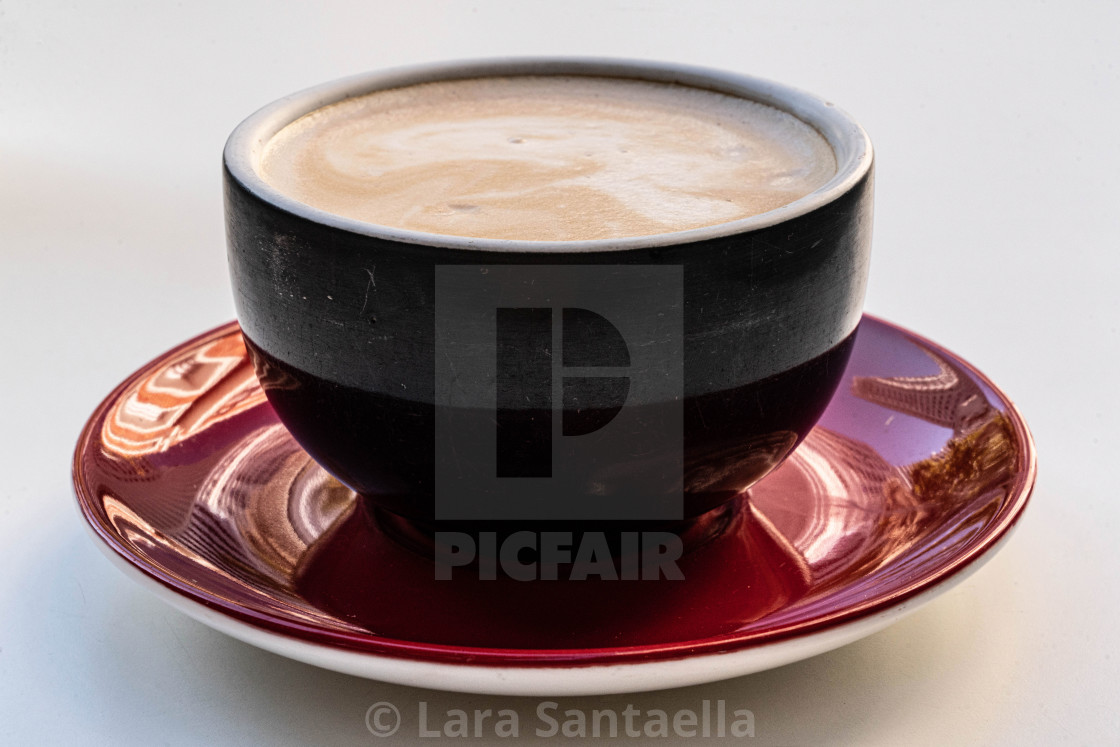 """""""Architecture in a cup of coffee II"""" stock image"""