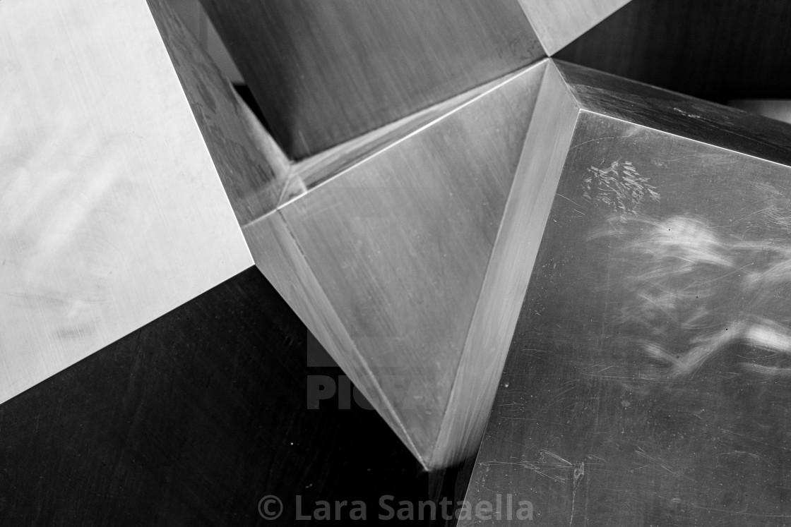 """Metal cubes"" stock image"