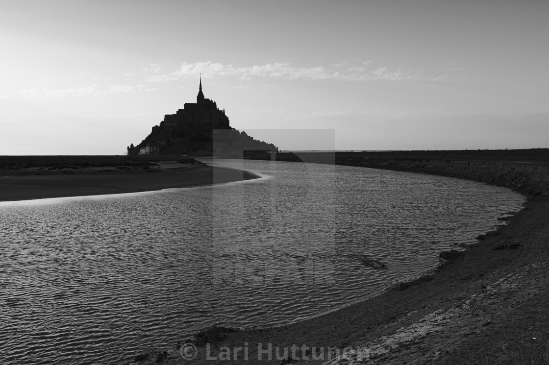 """""""Le Mont Saint-Michel"""" stock image"""