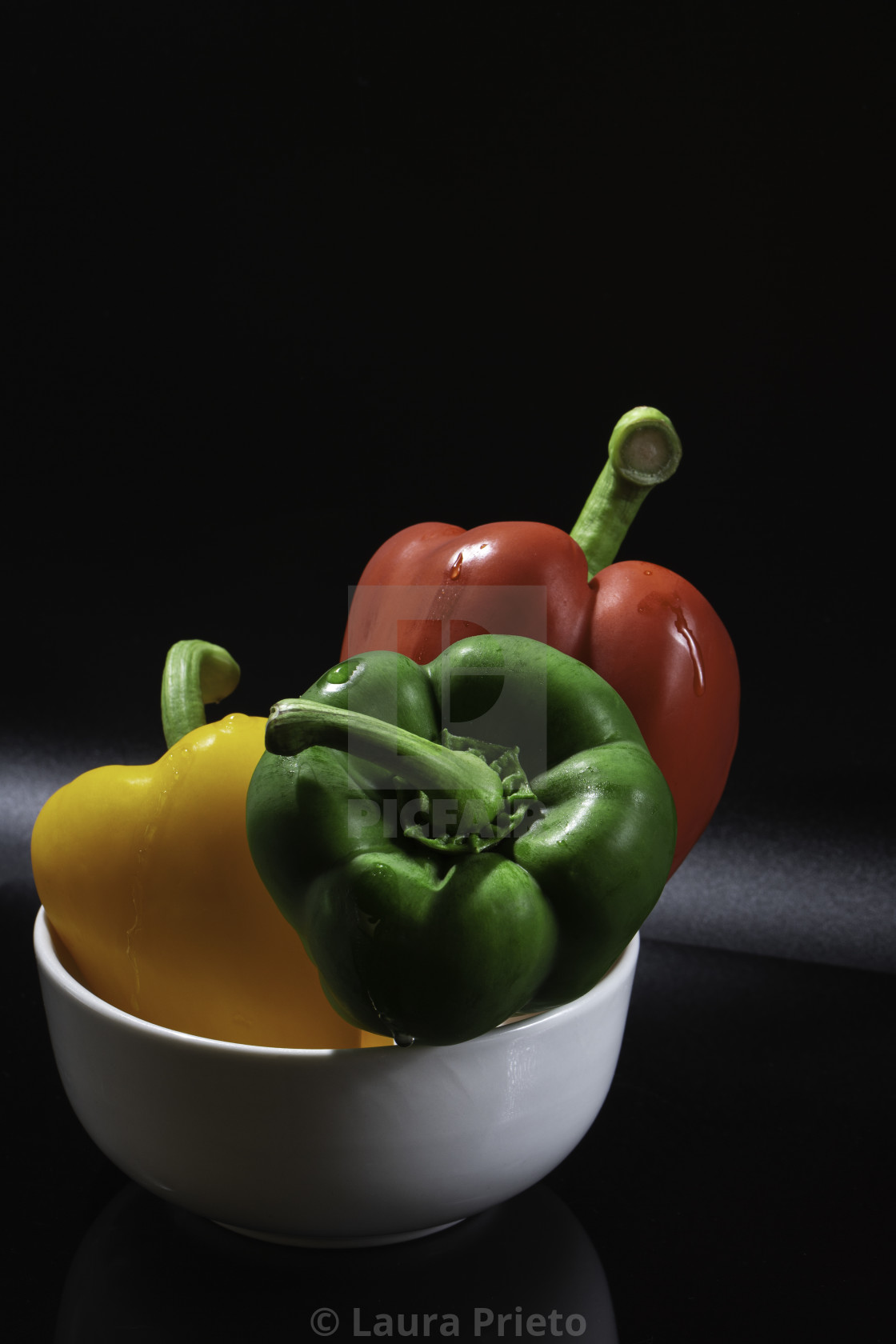 """Three Peppers"" stock image"