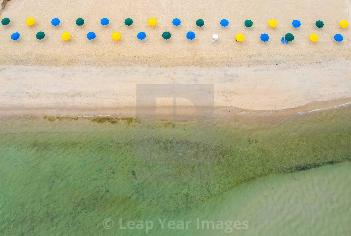 """Cliffside Beach"" stock image"