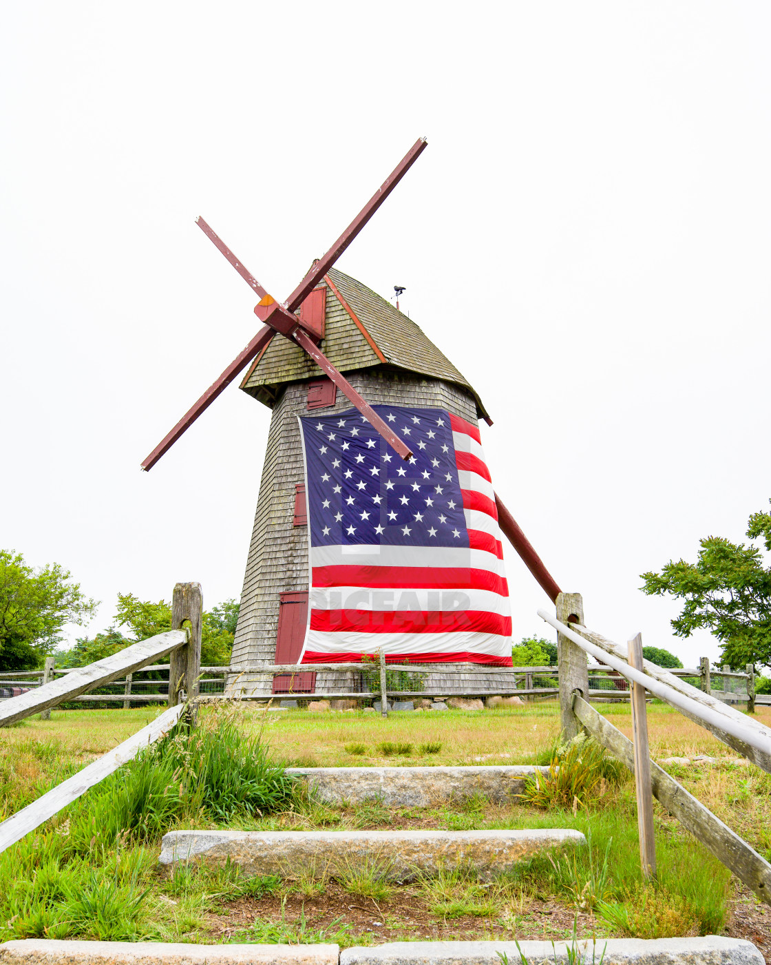 """""""The Old Mill"""" stock image"""