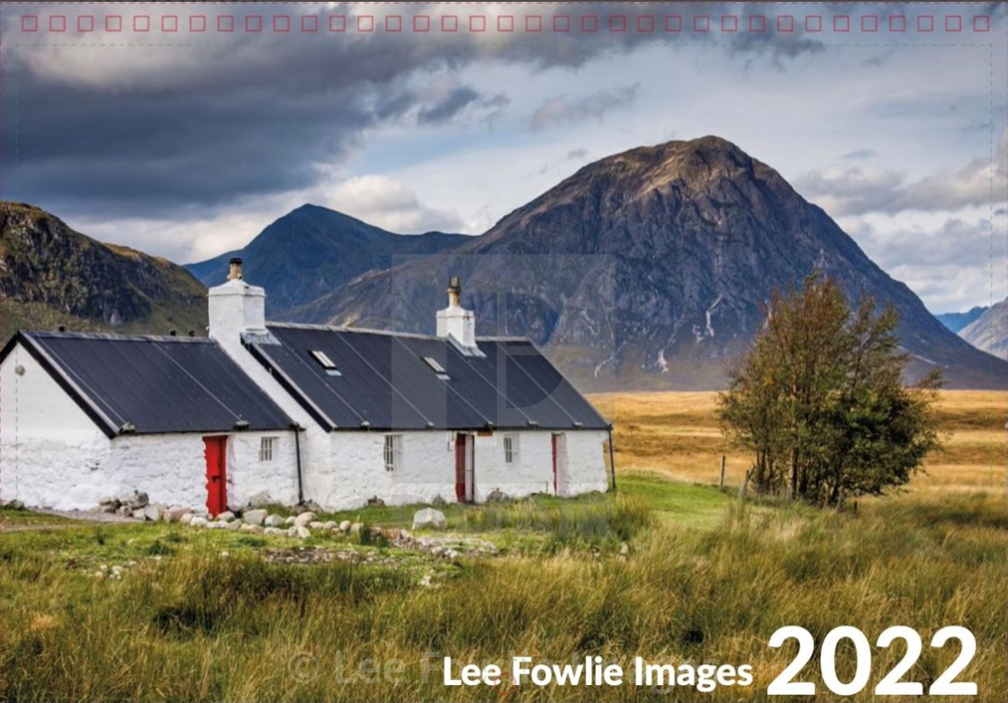 """""""Lee Fowlie Images Calendar 2022 - Front Cover"""" stock image"""