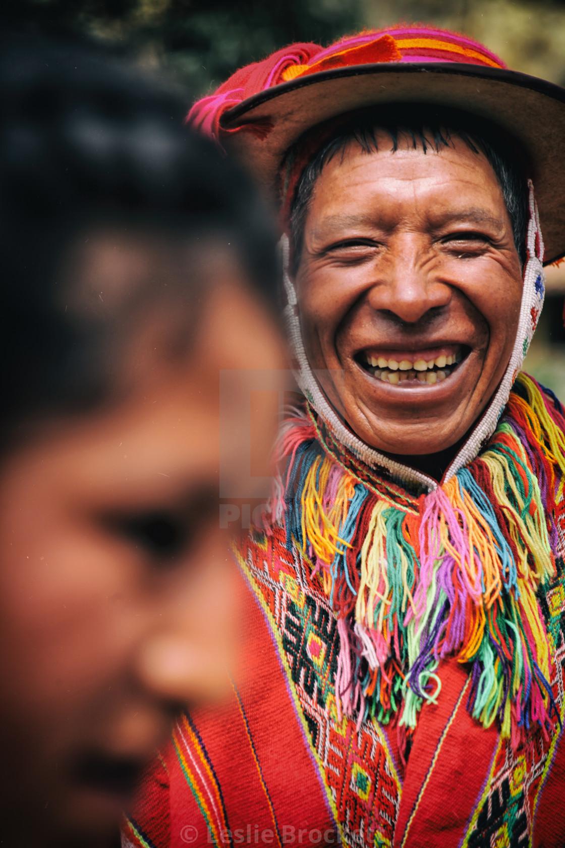 """Peruvian Smiles"" stock image"