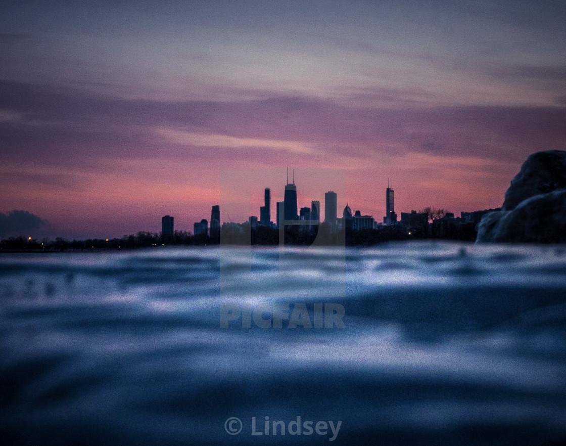 """Chicago Skyline"" stock image"