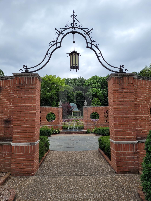 """Garden Gate"" stock image"