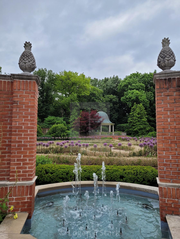 """Garden Gate II"" stock image"