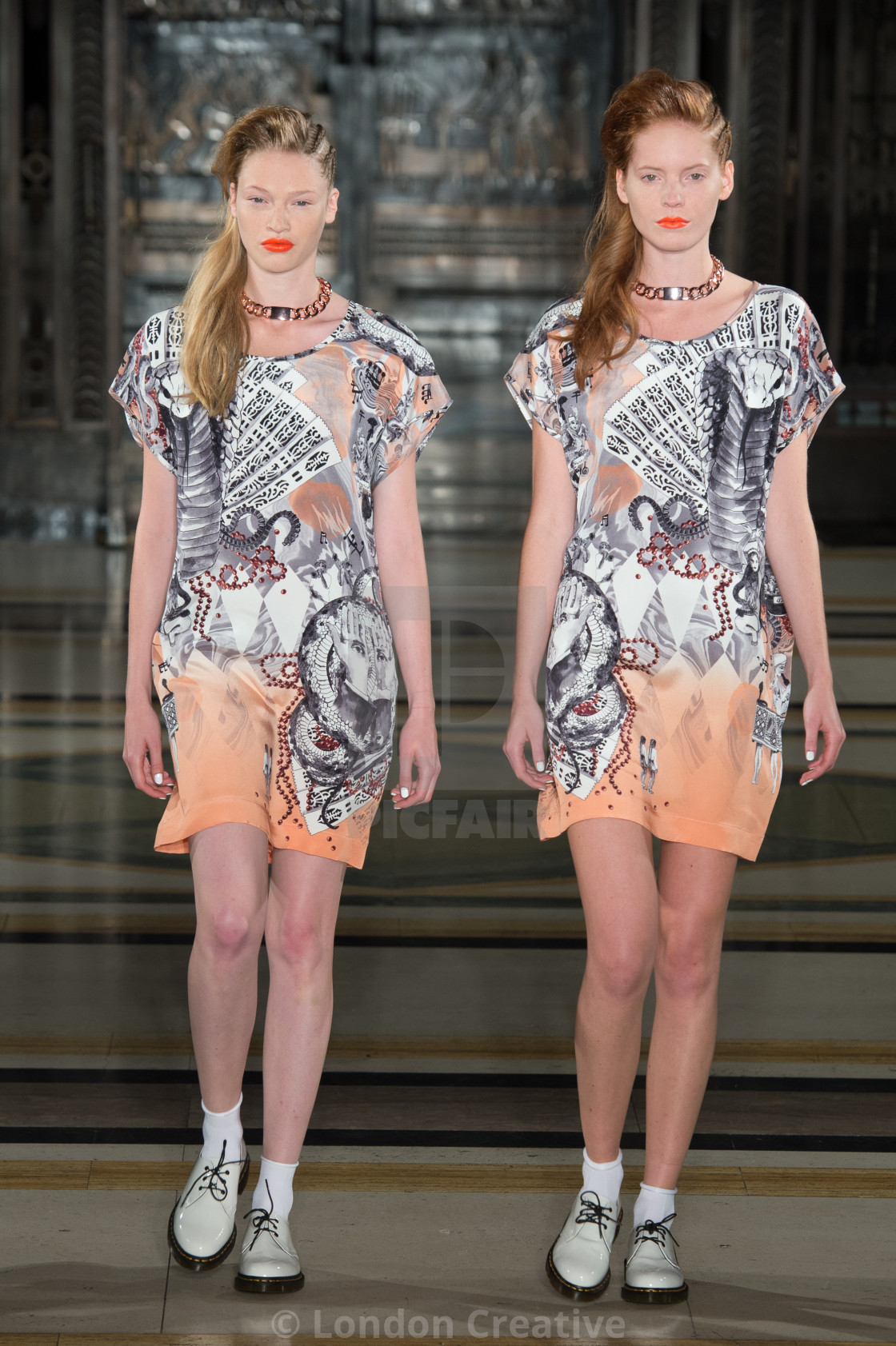"""""""Tabernacle Twins SS14"""" stock image"""
