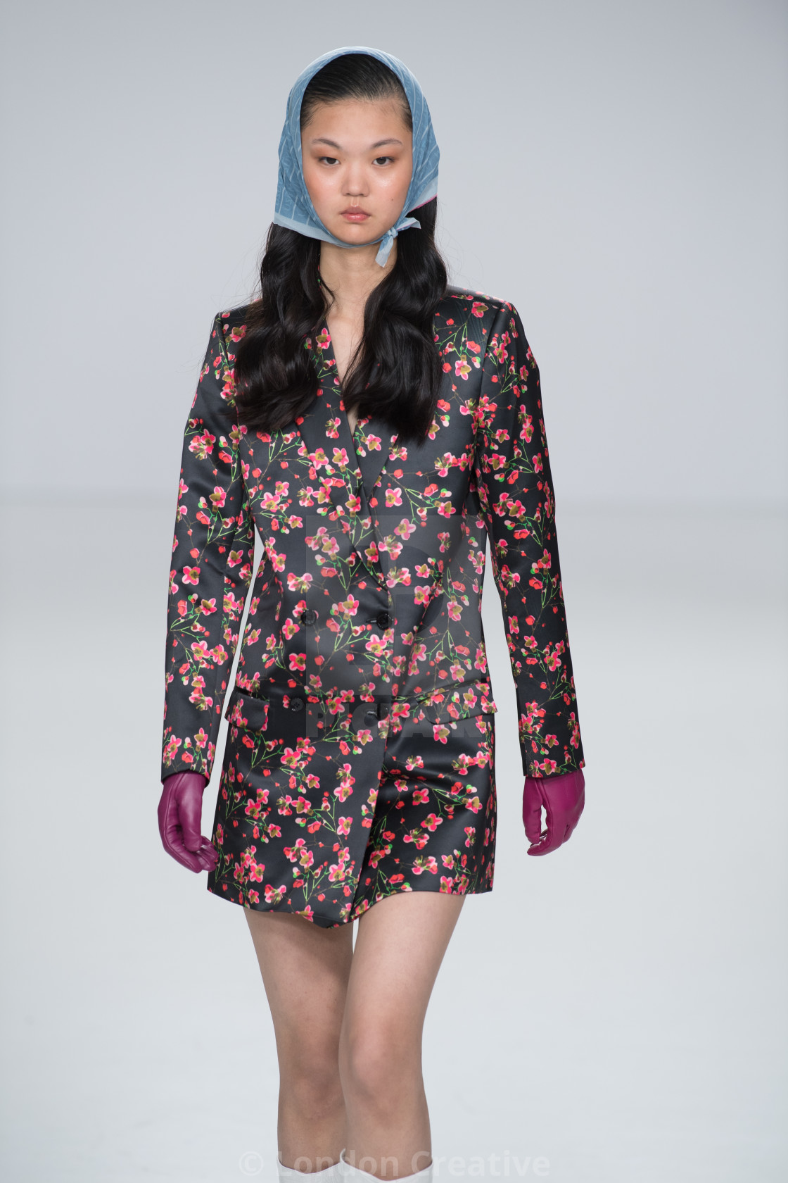 """""""Kuship Parmar Catwalk Show at Fashion Scout for LFW AW20"""" stock image"""