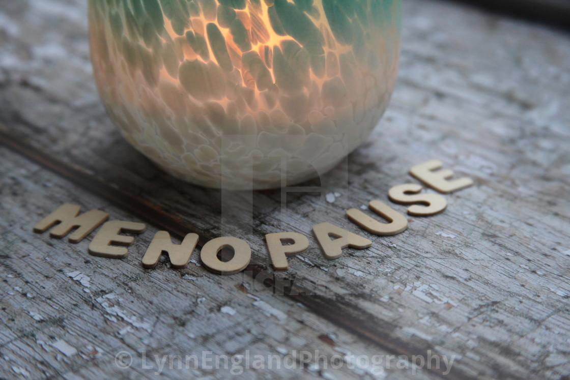 """Menopause"" stock image"