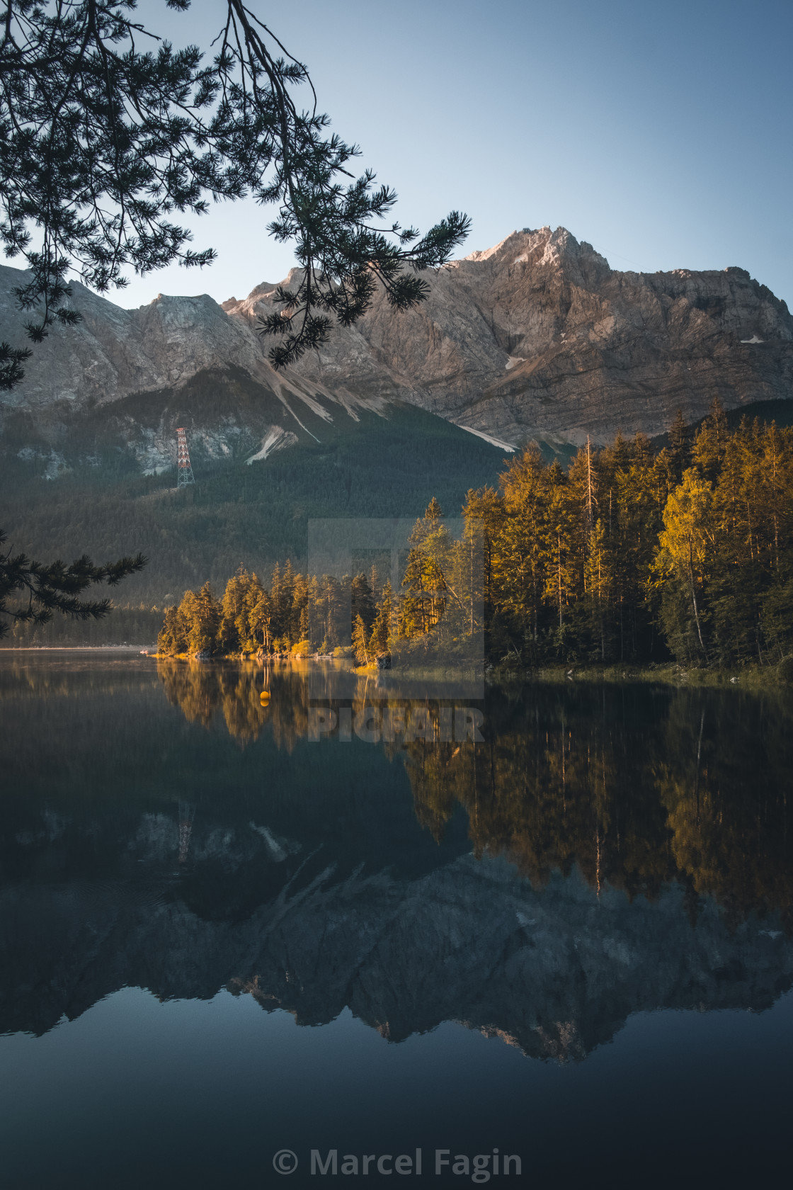 """Lake Eibsee Germany"" stock image"