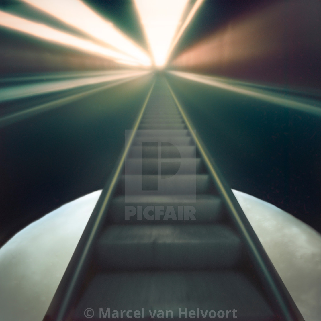 """""""stairway to heaven"""" stock image"""