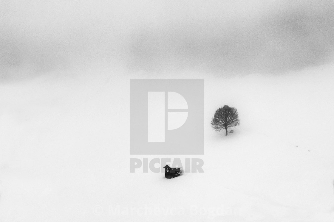 """mountain fog"" stock image"