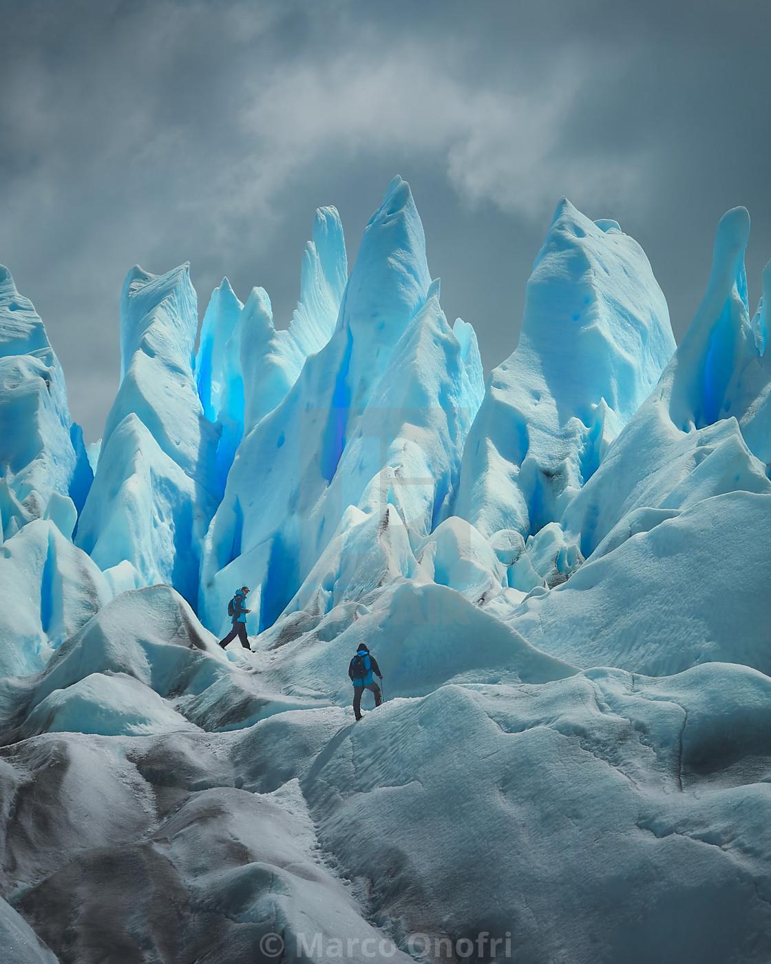 """""""Perito Moreno"""" stock image"""