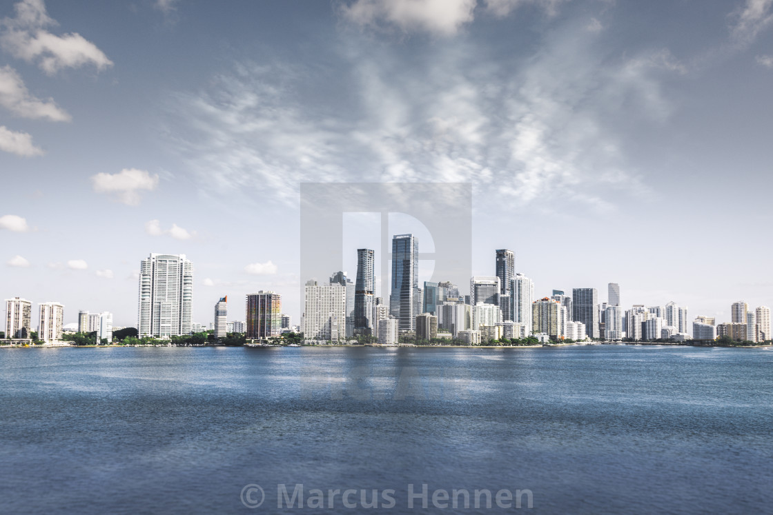 """Miami Downtown"" stock image"
