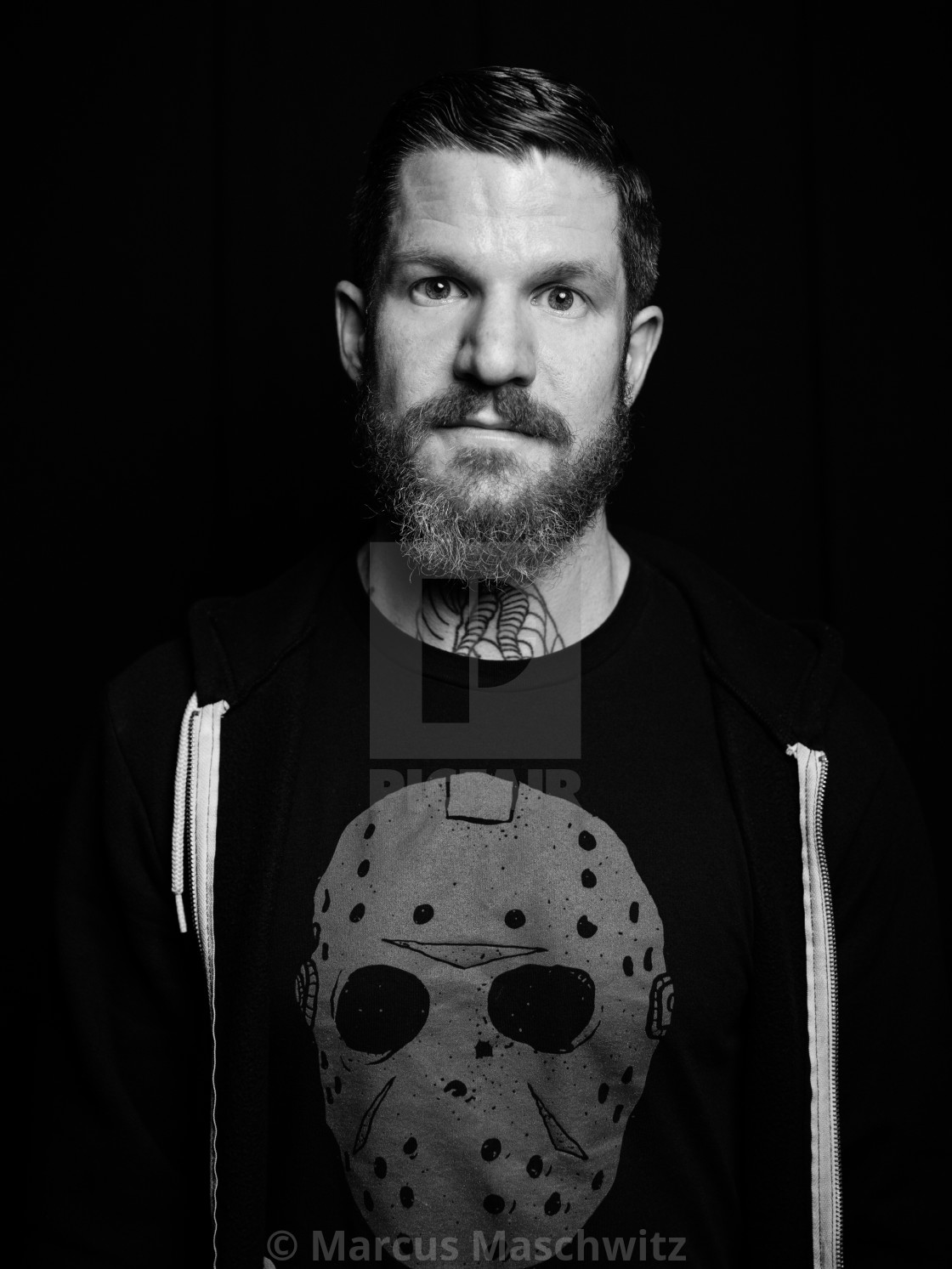 """""""Andy Hurley portrait"""" stock image"""