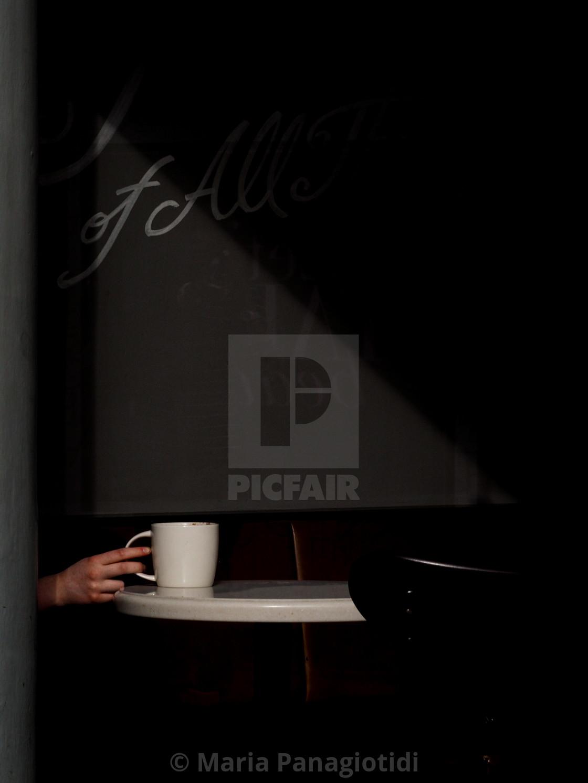 """coffee drinker"" stock image"