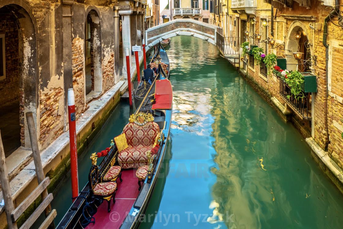 """Iconic Venice"" stock image"