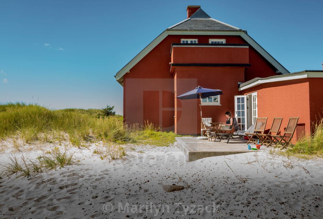 """The Beach House"" stock image"