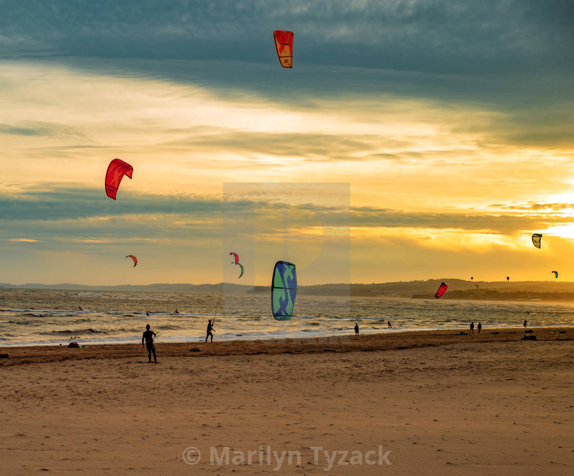 """Flying kites"" stock image"