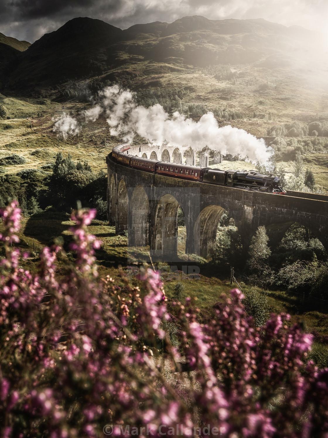 """""""Hogwarts Express"""" stock image"""