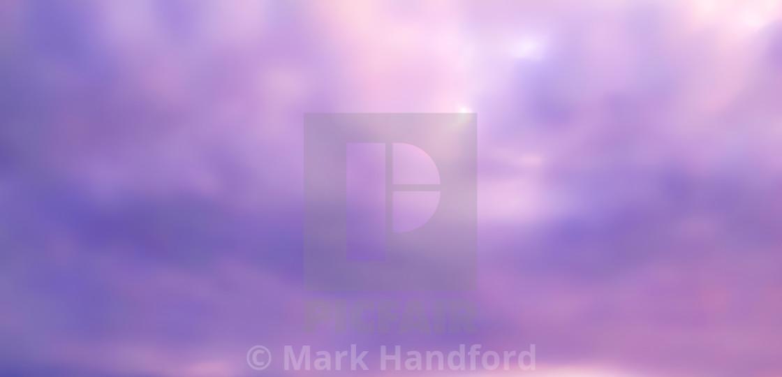 """Photographic Artwork - Moray Sky"" stock image"