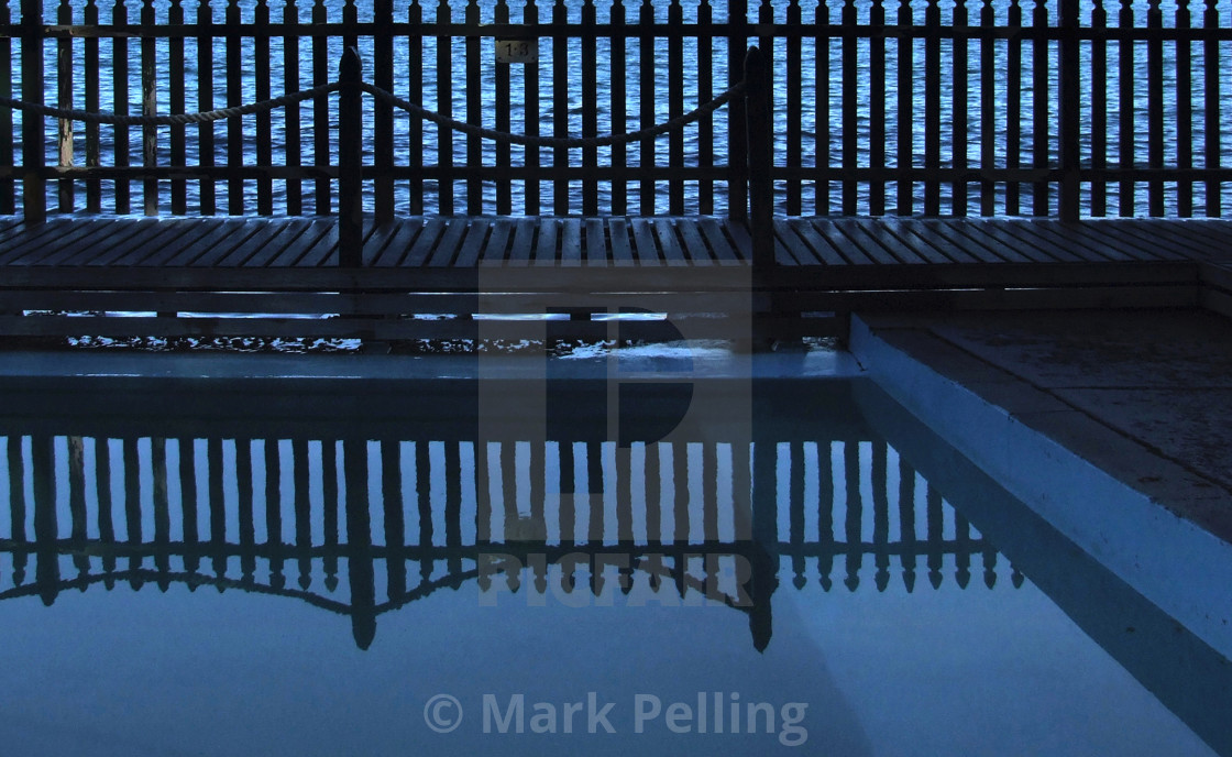 """Maccallum Pool, Cremorne Point, Sydney No.1"" stock image"