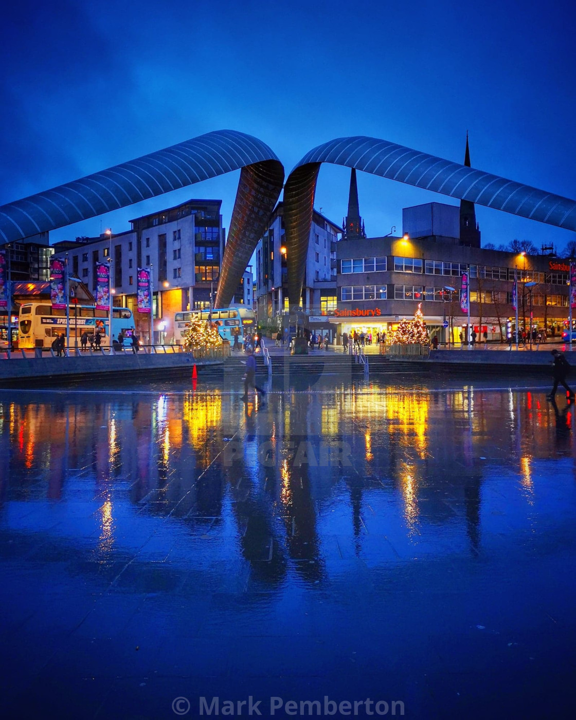 """""""Coventry Reflections"""" stock image"""