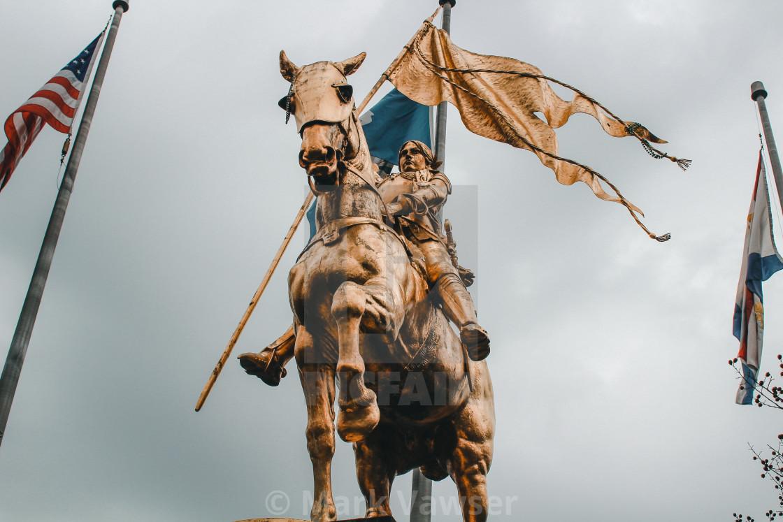 """Joan of Arc"" stock image"