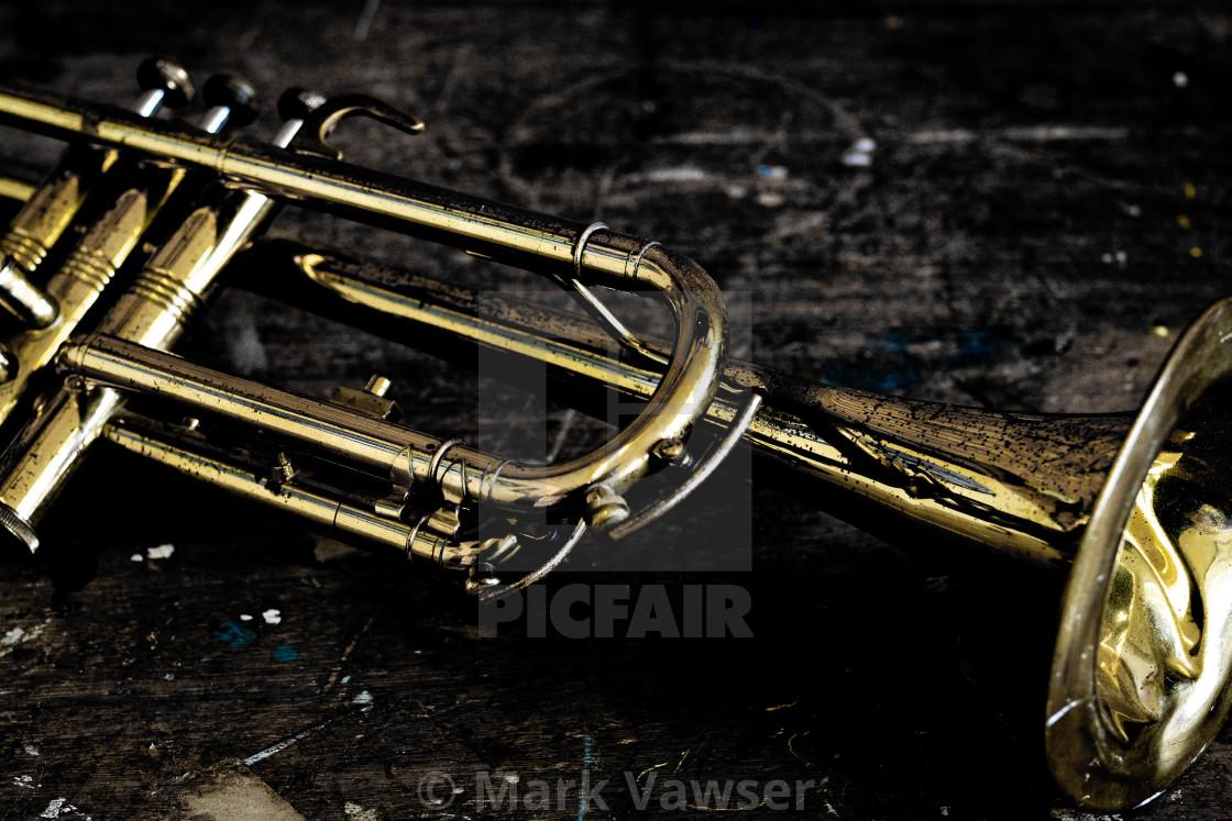 """""""Broken Jazz"""" stock image"""