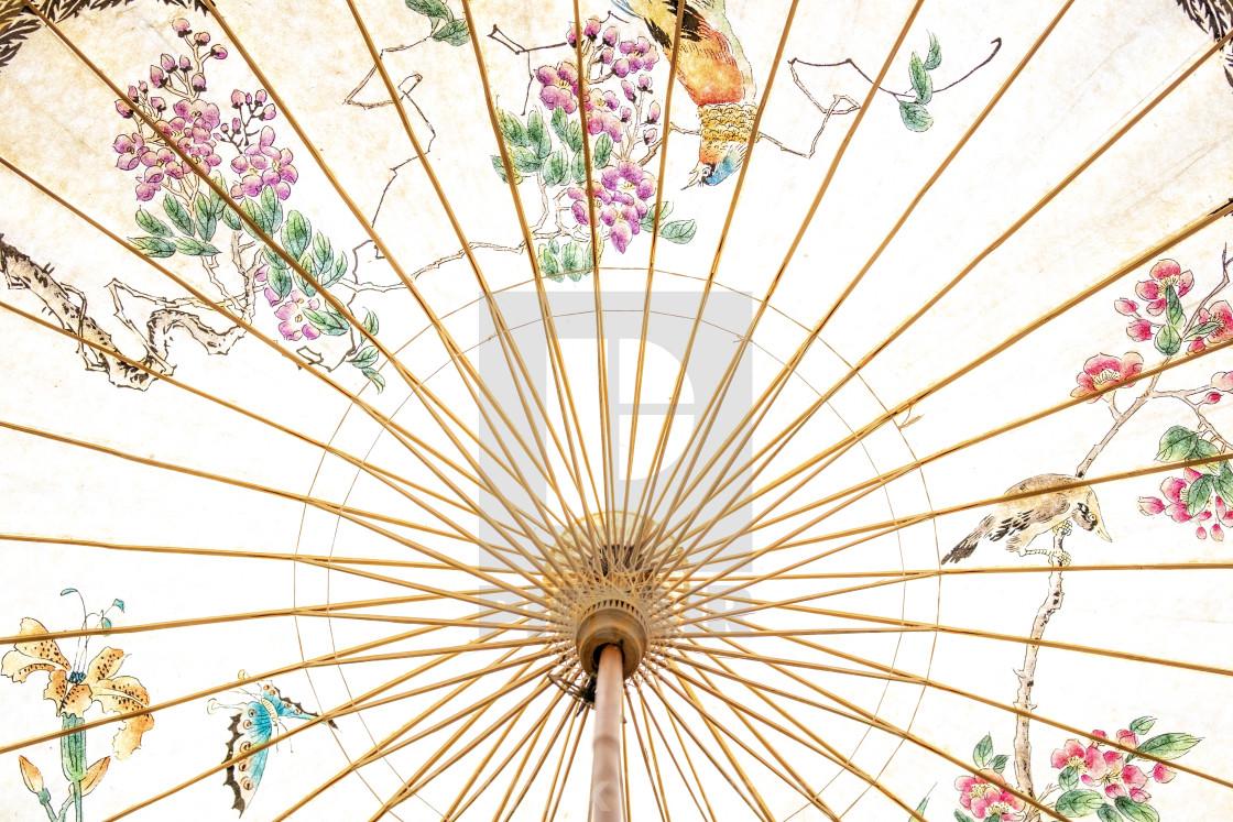 """Japanese Umbrella"" stock image"