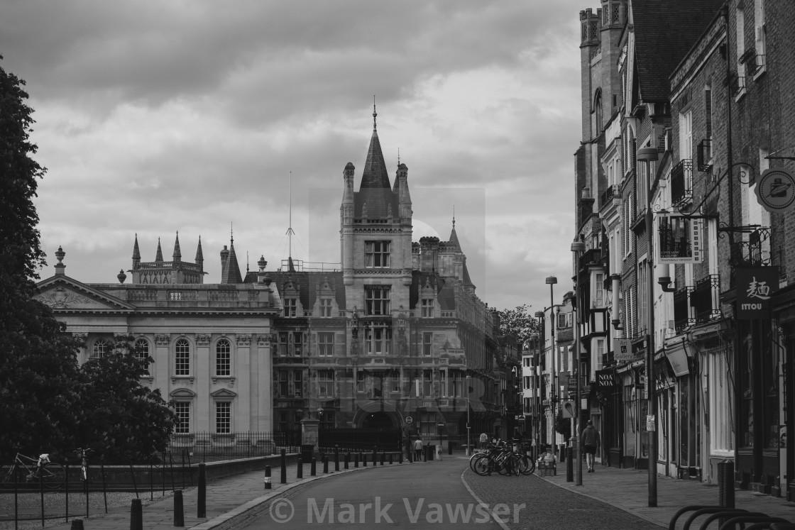"""""""Cambridge Streets"""" stock image"""