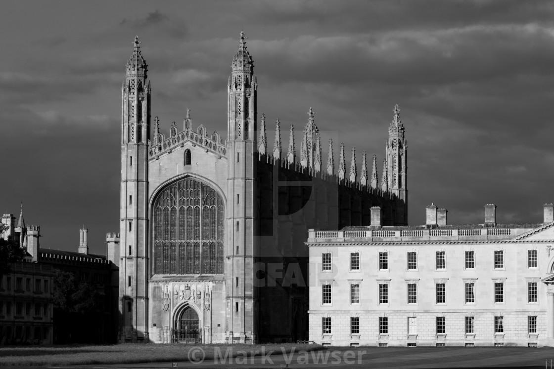 """Kings College Chapel"" stock image"