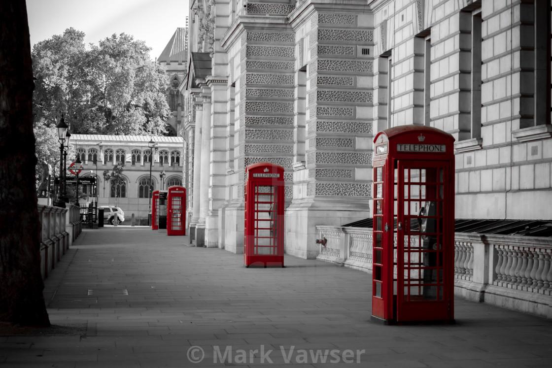 """London Boxes"" stock image"